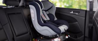 Детское кресло в автомобилях BelkaCar